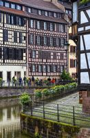 Bridge in Petite France, Strasbourg