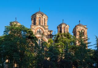St. Mark's Church (Church of St. Mark), Belgrade, Serbia