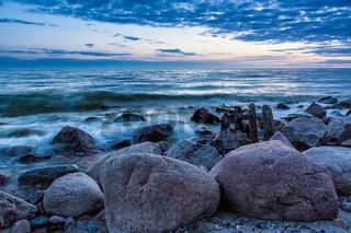 Buhne an der Ostsee