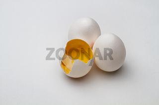 Good egg broken egg