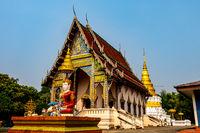 Wat Khu Kum, the ancient buddhist temple
