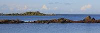 Idyllic landscape in Vita Sannar, Sweden.