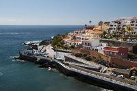 Punta Blanca in Puerto de Santiago, Los Gigantes, Teneriffa, Kanarische Inseln, Spanien, Europe