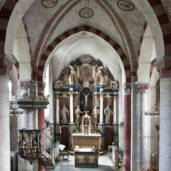 Church in Wormbach in Schmallenberg, Germany.