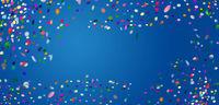 konfetti kreise hintergrund freiraum bunt banner