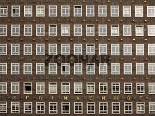 Sprinkenhof Kontorhaus in Hamburg