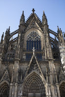 South facade of the Cathedral of Cologne