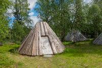 Hut  in Swedish lapland