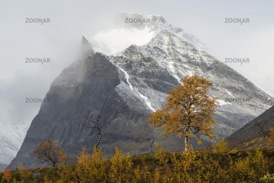 Mt. Duolbagorni, Kebnekaise mountains, Sweden