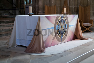 View of an Altar in Canterbury Cathedral