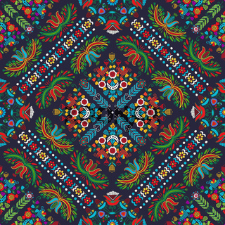 Hungarian embroidery pattern 58