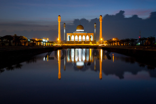 Songkhla Central mosque, Thailand