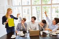 Start-Up Business Team Meeting