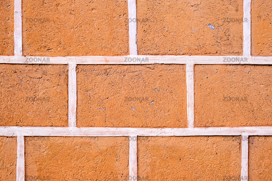 Background from a red brick wall