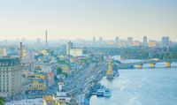 Panorama of Kyiv. Ukraine