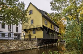 Ein Haus am Fluss in Erfurt