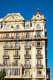 Historische Gebäude in Barcelona