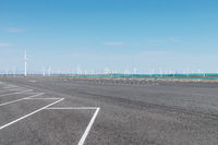 wind farm off the highway