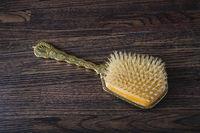 Old fashion hair brush