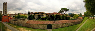 Lucca, a picturesque village in Tuscany