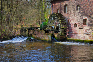 die Brempter Muehle an der Schwalm,Niederrhein,NRW,Deutschland