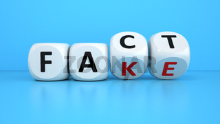 Fake Fact Cubes