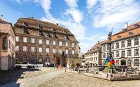 View of the square Marktplatz, lindau
