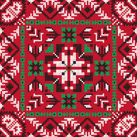 Romanian traditional pattern 200