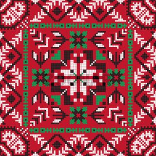 Romanian traditional pattern 200