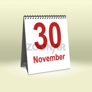 November 30th   30.November