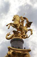 Freedom Monument - St. George Statue, memorial in Tbilisi, Georgia