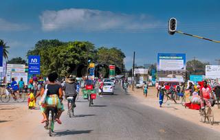 Auf den Straßen von Mangochi in Malawi | On the streets of Mangochi in Malawi