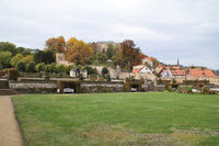 The castle garden in Blankenburg