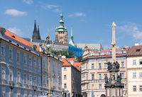 Historic buildings in Prague