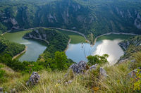 Meanders of the Uvac River, Serbia