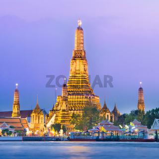Wat Arun, Bangkok, Thailand.