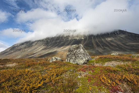Liddubakti, Kebnekaise mountains, Lapland, Sweden