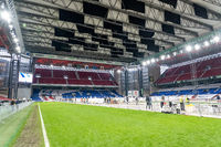 Corona Test Facility at National Stadium in Copenhagen, Denmark