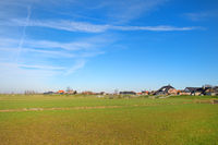 Dutch landscape polder Eemdijk