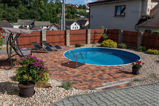 small home swimming pool