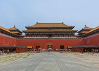 Beijing, China - May 16, 2018: Gugong Forbidden City Palace