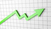 Rising Arrow Chart