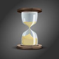traditional hourglass symbol