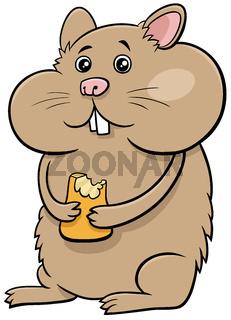 cartoon hamster comic animal character