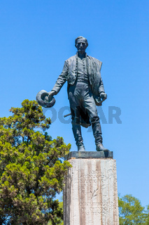 Argentina Cordoba Jose Artigas statue portrait