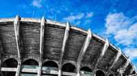 Arena football great and beautiful construction building