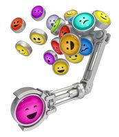 Emotion Buttons Metal Grab