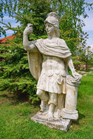 Old Statue of an Roman Hero