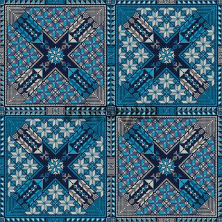 Palestinian embroidery pattern 309