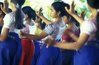 CAMBODIA PHNOM PENH TRADITION KHMER DANCE